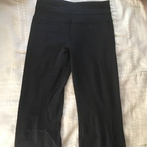 Lululemon Black Yoga Pants